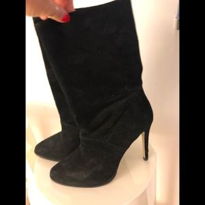 BCBGeneration black ankle booties 8.5